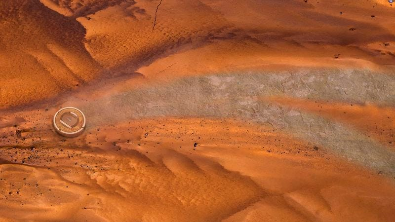 Nasa S Mars Roomba Begins Mission To Clean Dust From
