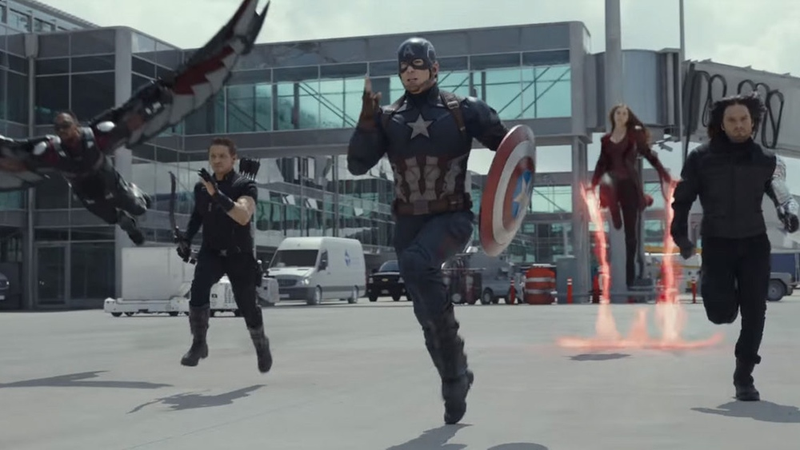 Illustration for article titled Team Cap Kicks Ass in the First Clip From Captain America: Civil War