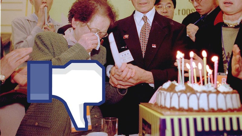 Illustration for article titled Facebook Ruined Your Birthday
