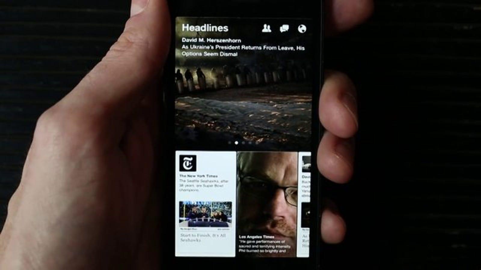 Paper, análisis: la única aplicación de Facebook que necesitarás