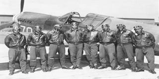 Tuskegee Airmen gather to celebrate 70th anniversary. (Google)