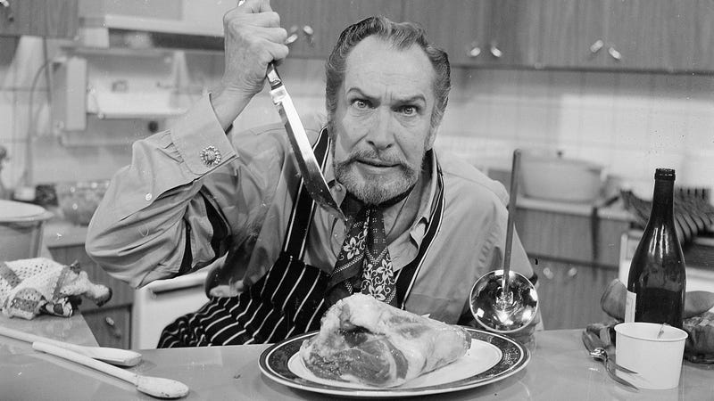 Vincent Price in 1970