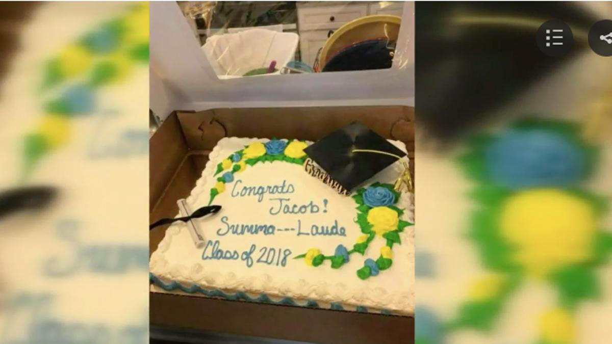 Publix Supermarket Doesnt Want Cum On Graduation Cakes