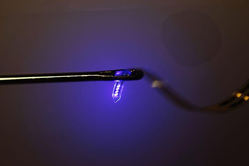 Desarrollan LEDs inyectables para manipular el cerebro con luz
