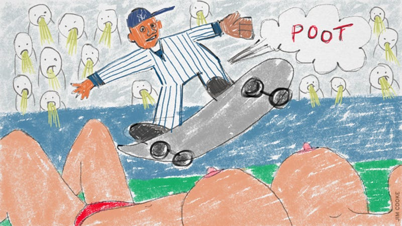 Illustration for article titled We Have A Winner For The Dumbest Story Ever Written About Derek Jeter [NSFW?]
