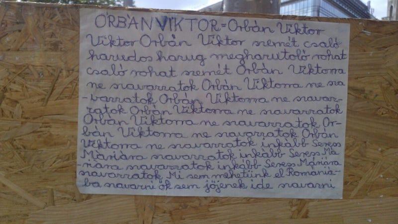 Illustration for article titled Leleplező költészet a Blaháról: Orbán Viktor = Orbán Viktor!