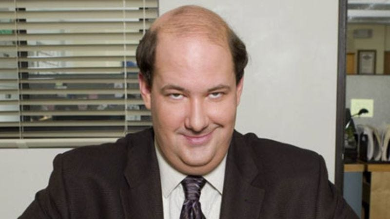 Illustration for article titled Greg Daniels will also salvage Brian Baumgartner from The Office