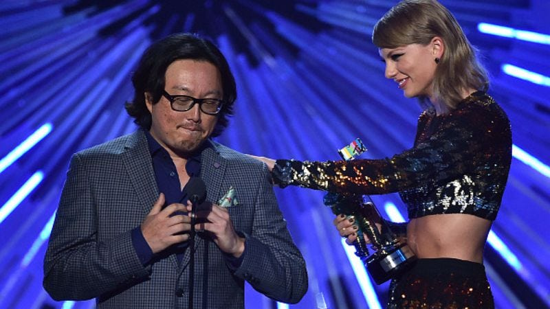 Joseph Kahn and Taylor Swift (Photo: Kevin Winter/Getty Images)