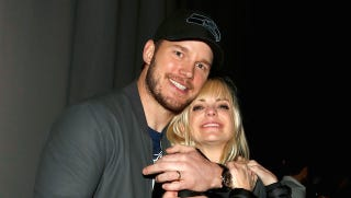 Illustration for article titled Anna Faris and Chris Pratt Are So Cute It's Stupid