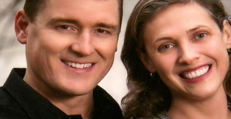 Scott and Buckley Fricker (ABC News video screenshot)
