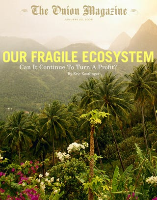 Illustration for article titled Our Fragile Ecosystem: Can It Continue To Turn A Profit?
