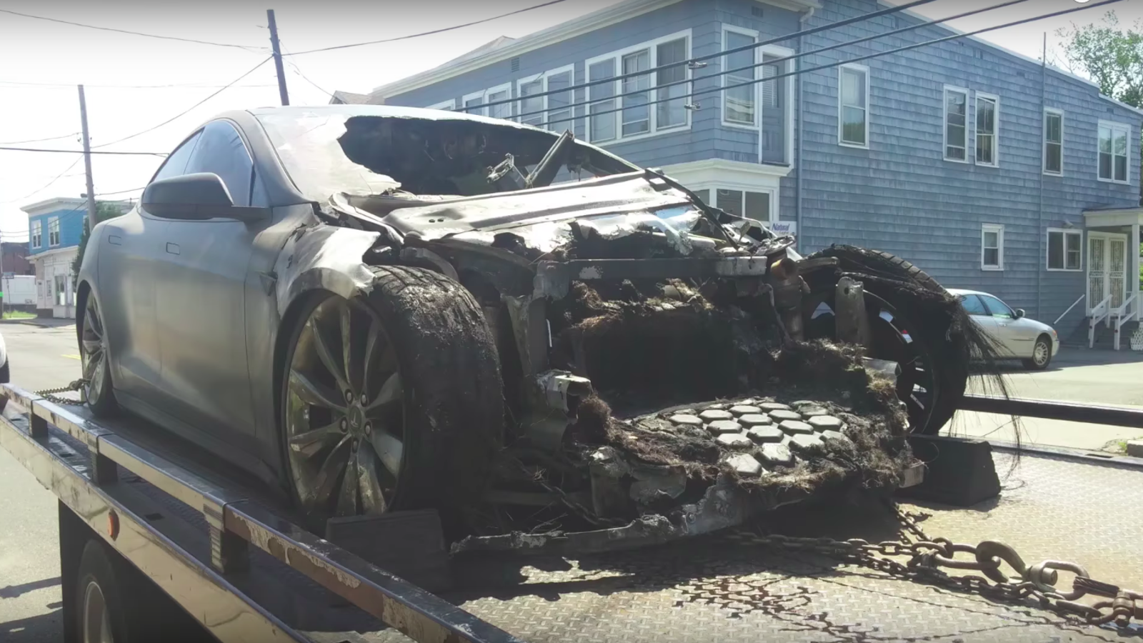The Tragic Tale Of The Frankenstein Tesla Model S That