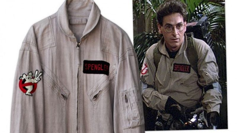 Illustration for article titled Buy Harold Ramis' Ghostbusters jumpsuit so they can't reboot that, at least