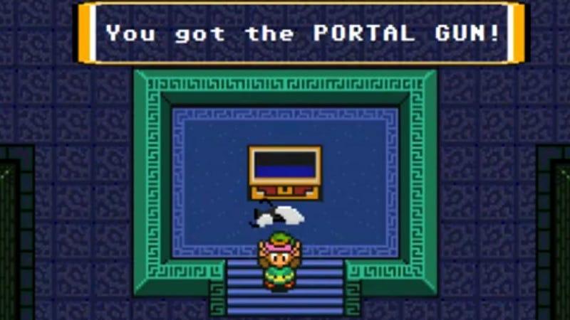 Illustration for article titled The Legend of Zelda: A Link to the Portal Gun