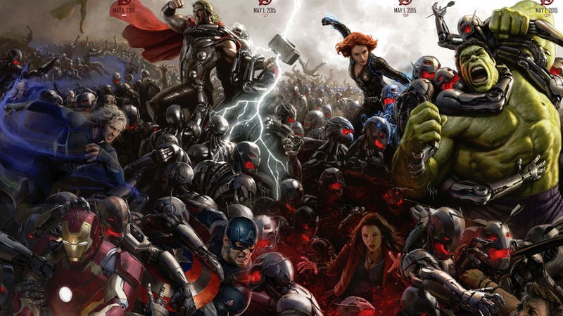 Illustration for article titled Avengers: Age of Ultron Footage Shatters Our Worlds And Blows Our Minds
