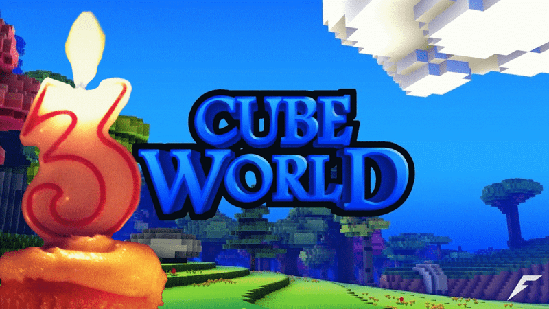 Illustration for article titled Cube World Is 3 Years Old Today, But It Doesn't Matter Anymore