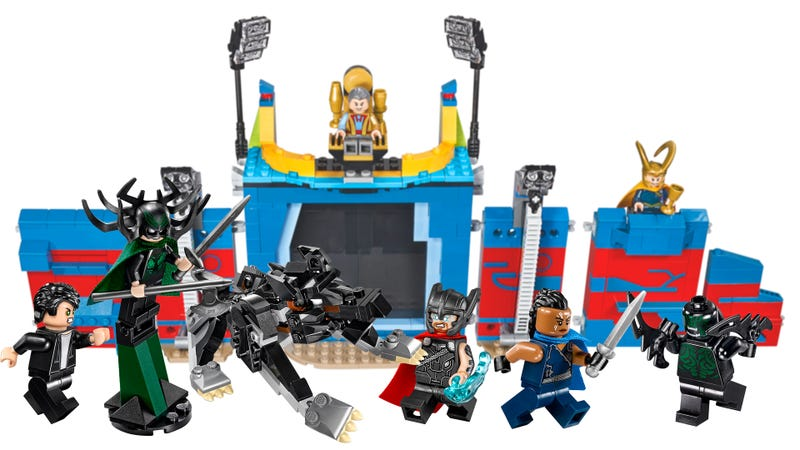 Illustration for article titled Lego's Rocking Two New Thor: Ragnarok Sets