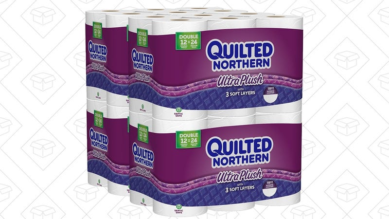 Quilted Northern Ultra Plush Toilet Paper, 48 Rolls, $21 after $6 coupon