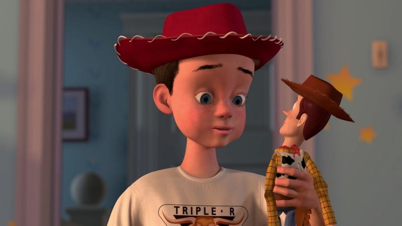Toy Story writer calls this theory about Andy's dad 'fake news'