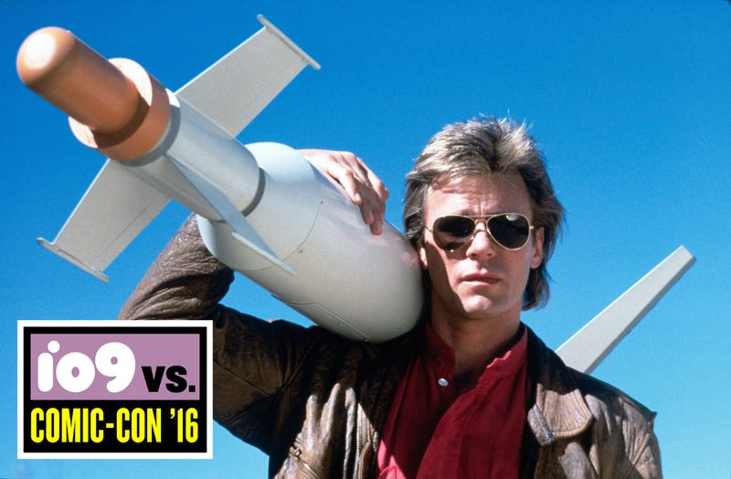 Illustration for article titled The MacGyver Reboot Really, Really Hopes the Original MacGyver Might Stop By