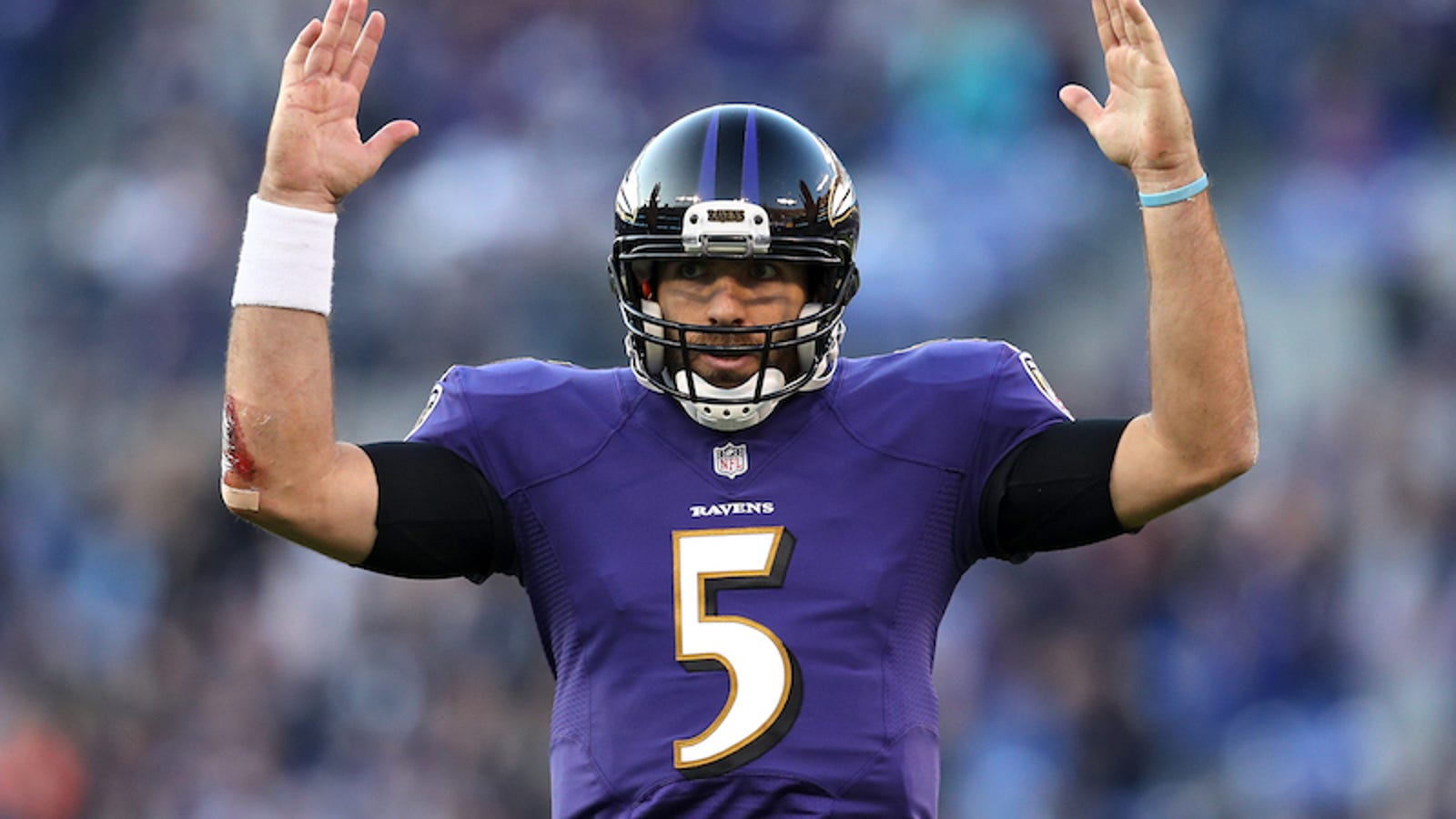half off 8258d 5d007 Imagine How Good The Ravens Would Be If Joe Flacco Weren't Awful