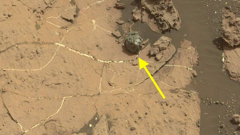 Rover finds objects in Mars!