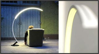 Illustration for article titled Troja Arc Lamp Is Sexier Than Most Women