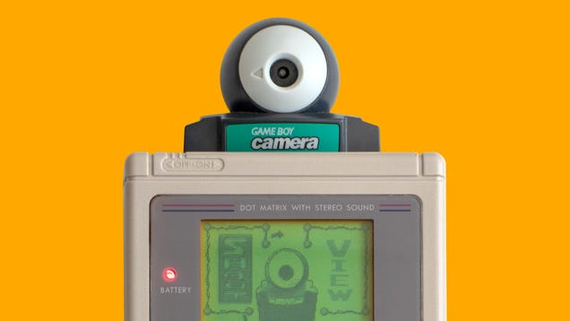 I Miss the Game Boy Camera, My First Digital Camera