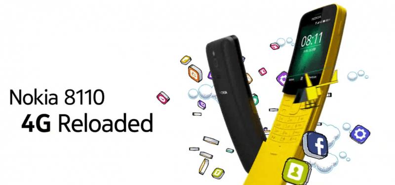 Illustration for article titled Nokia revive el 8110, el móvil de Matrix, en color amarillo banana