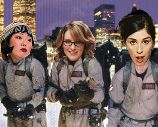 Illustration for article titled Who Should Be The First Female Ghostbuster?