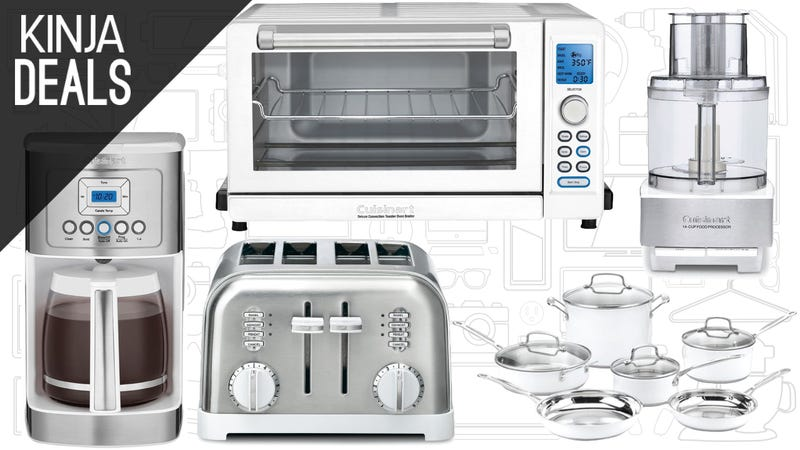 Illustration for article titled Amazon's Cuisinart Kitchen Gear Sale Is Full of Great Gift Ideas