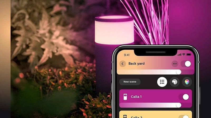 Philips Hue White & Color Ambiance Outdoor Smart Pathway Light | $116 | Amazon | With no-rush shipping discount