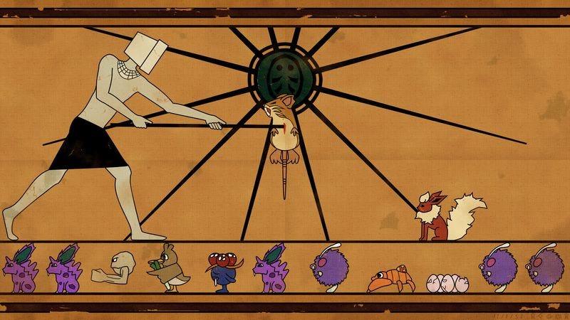 Illustration for article titled Praise Helix: The strange mythology of a crowdsourced Pokémon game