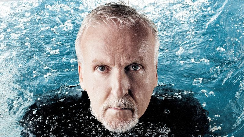 Illustration for article titled James Cameron embarks on another Deepsea Challenge, this one in front of the camera