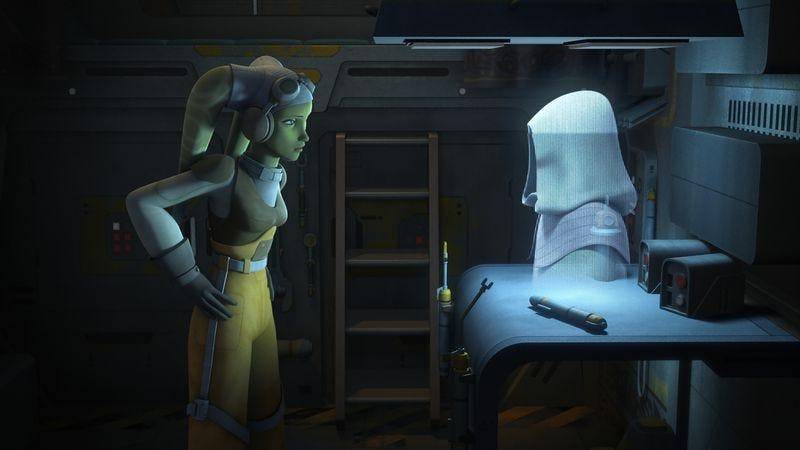 """Illustration for article titled Star Wars Rebels: """"Rebel Resolve"""""""