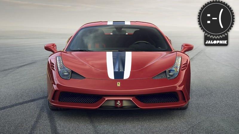 Illustration for article titled 2014 Ferrari 458 Speciale: The Jalopnik Meta Review