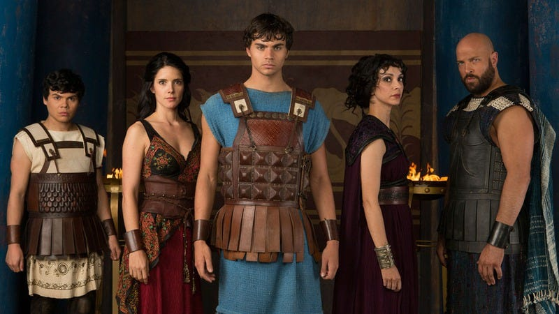 Illustration for article titled Olympus is Syfy's ridiculous answer to Game Of Thrones