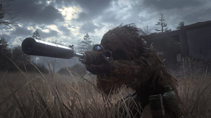 How Modern Warfare's All Ghillied Up Was Made