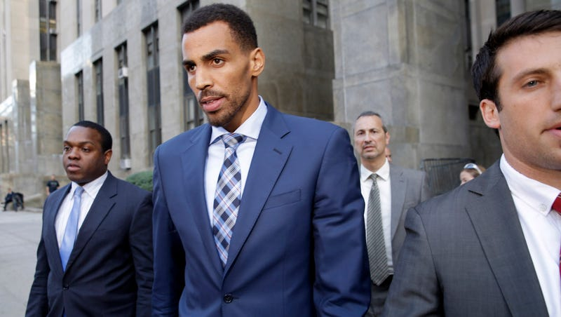 Illustration for article titled Thabo Sefolosha Testifies He Was Giving Money To Beggar When Arrested