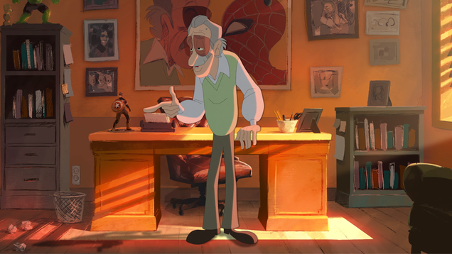Stan Lee Celebrates the Art of Cursing in This Cute Animated Short
