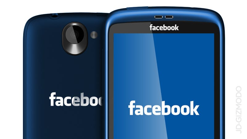 Illustration for article titled Bloomberg: Facebook Launching HTC-Built Phone With Custom OS  in 2013