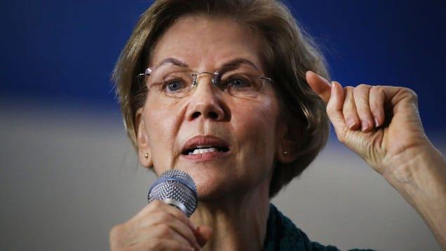 Elizabeth Warren Targets Wall Street in New Climate Change Plan