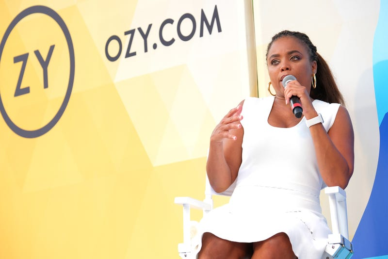 Jemele Hill speaks onstage during OZY Fest 2018 at Rumsey Playfield, Central Park on July 22, 2018, in New York City.