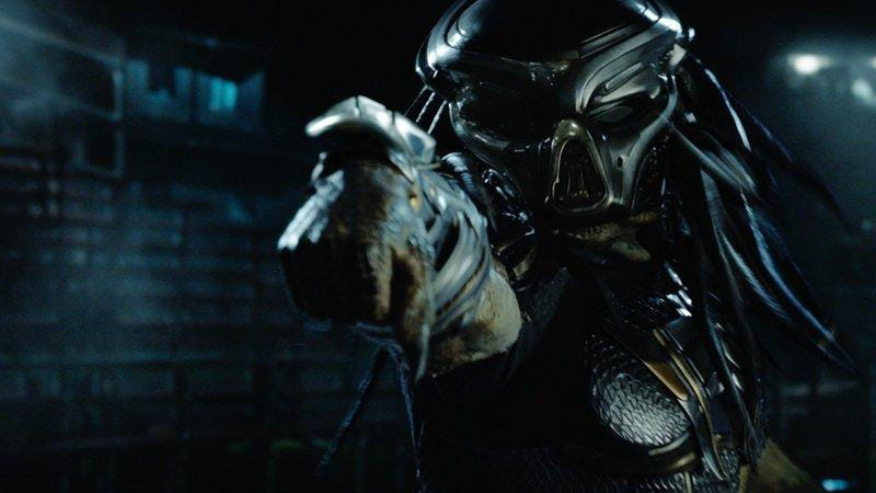 The Predator, looking to... predate... I guess.