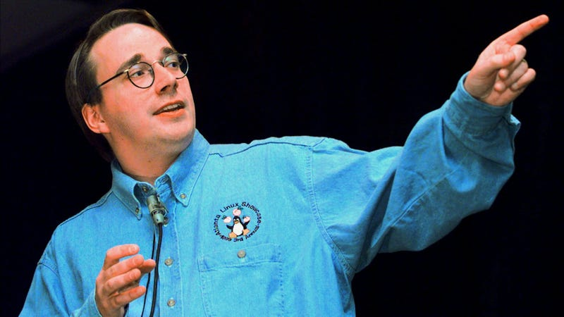 Linus Torvalds in 1999. Photo: AP