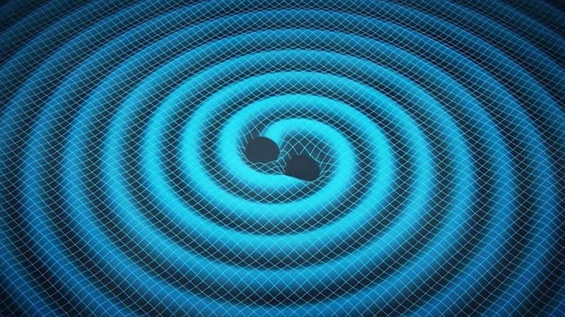 Illustration for article titled EXCLUSIVE: Physicists Have Literally Woven The Fabric of Spacetime