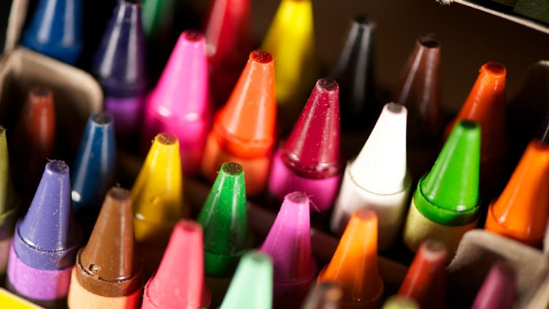 use a crayola crayon when selling stuff online to show color and size - Crayola Color Online