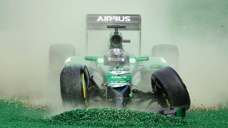Illustration for article titled Caterham F1 Team Staff Locked Out Of Own Office