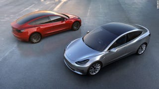 Illustration for article titled Tesla just reported a profit...
