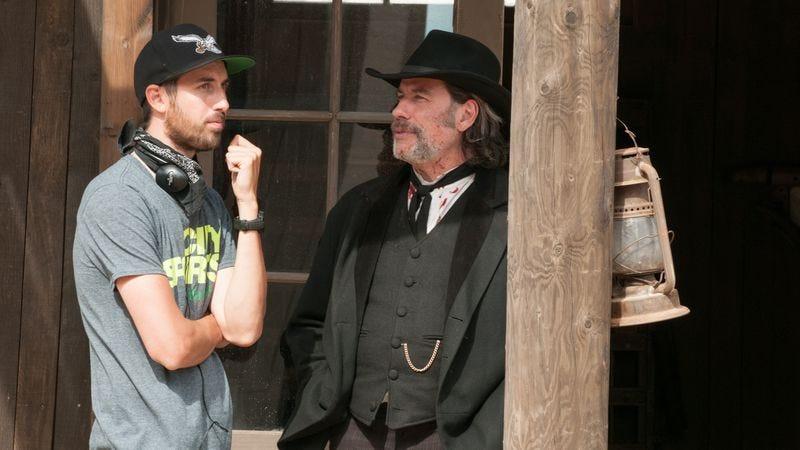 Ti West and John Travolta (Photo: Focus World)